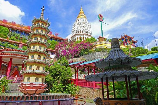 Half day Penang guided group trip