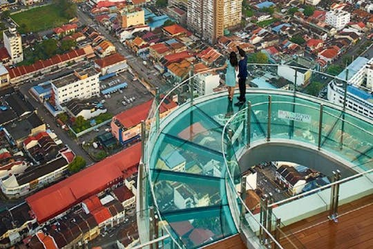 Penang Rainbow Skywalk and the top Komtar Observation Deck tickets