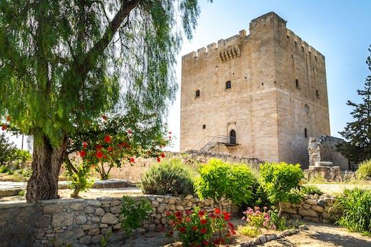 Kolossi, Kourion & Wijnmakerij Tour per Minibus