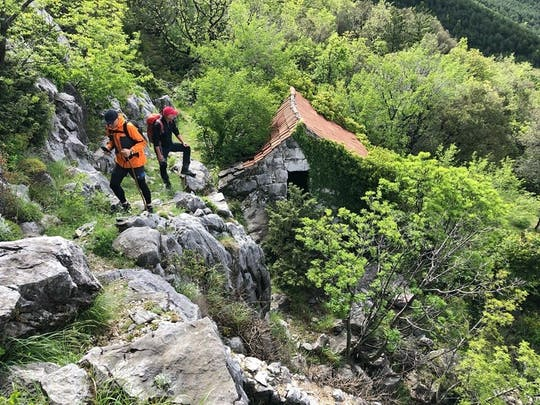 Ancient Brela Road Hiking Tour