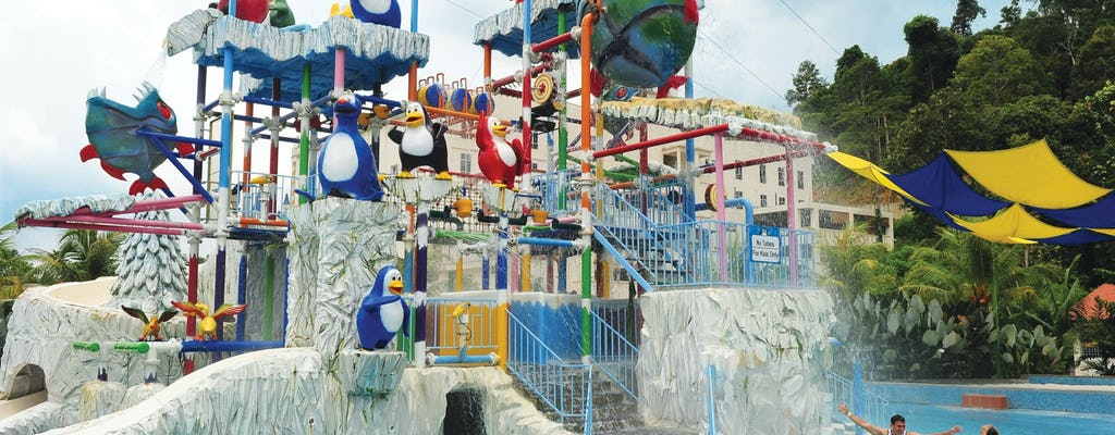 Bukit Gambang Theme Park ticket with roundtrip transfer from Kuala Lumpur