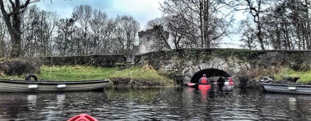 Опыт катания на байдарках по озерам Килларни из замка Росс