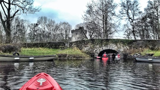 Killarney lakes kayaking experience from Ross Castle