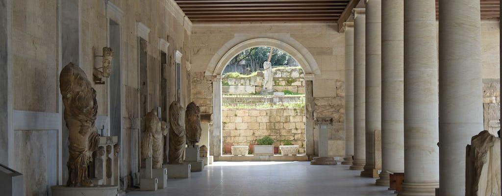 Selbstgeführte Audiotour und Ticket für die antike Agora von Athen