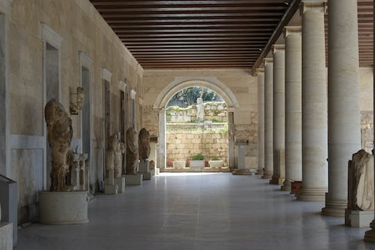 Self-guided audio tour and skip-the-line ticket of the Ancient Agora of Athens