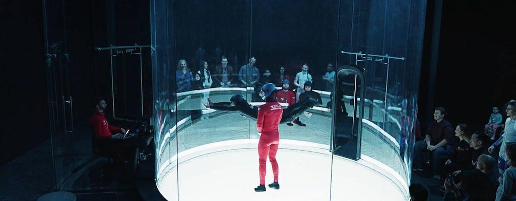 Experiencia de paracaidismo bajo techo iFLY Hollywood