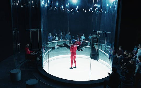 iFLY Hollywood indoor skydiving experience