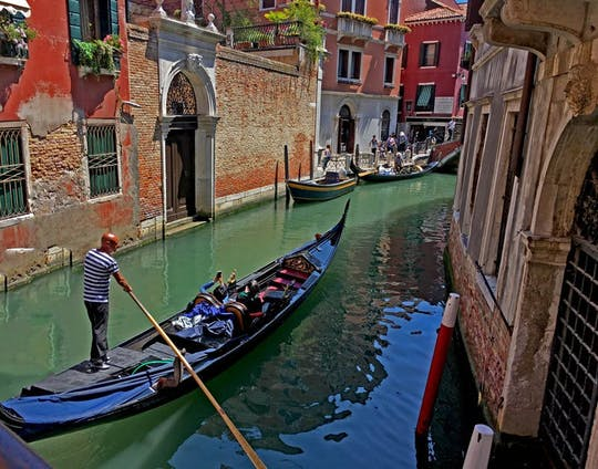 Grand Canal skip-the-line gondola ride