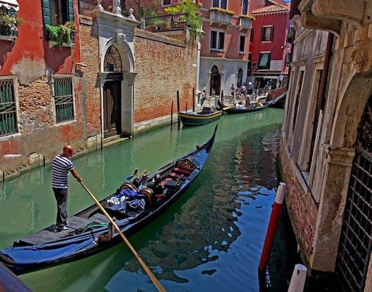 Rejs gondolą wzdłuż Canal Grande bez kolejki