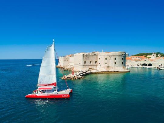 Croisière en catamaran au coucher du soleil à Dubrovnik