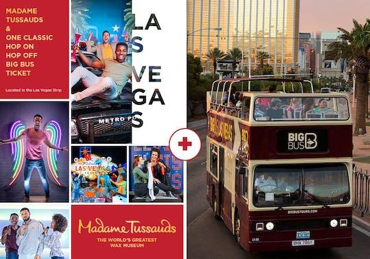 Madame Tussauds Las Vegas avec pass 1 jour Big Bus Classic