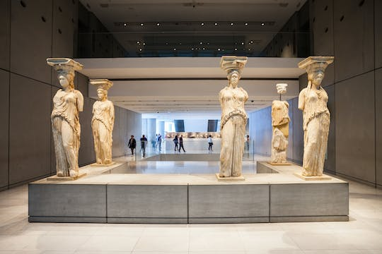 Skip-the-line e-ticket and audio tour of Acropolis museum