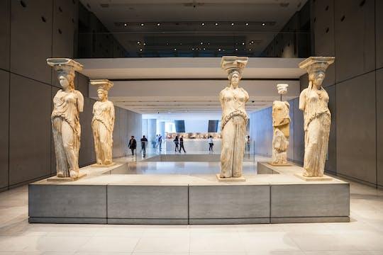 Boleto electrónico sin colas y recorrido en audio por el museo de la Acrópolis
