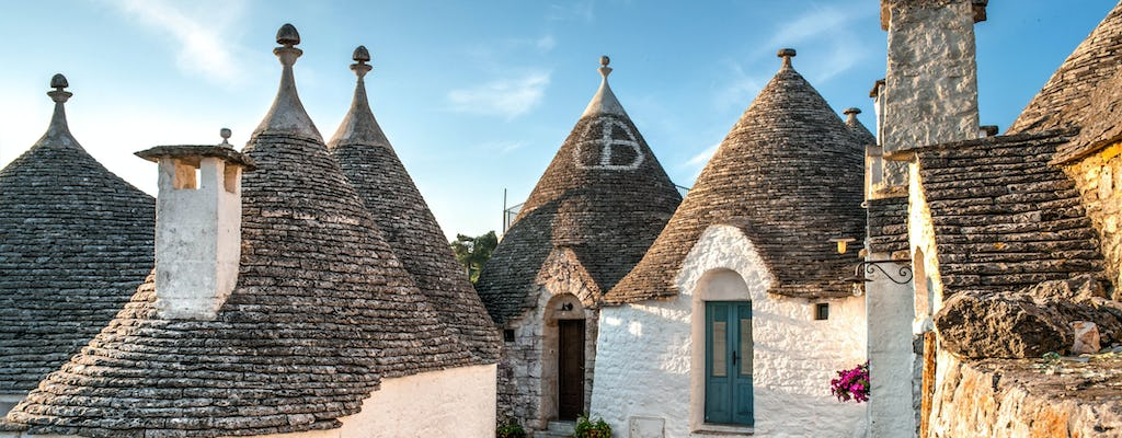 Alberobello walking tour with tasting of local products