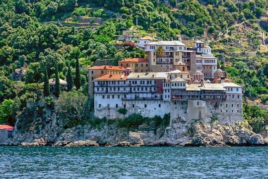 Audiogeleide cruise naar de berg Athos vanuit Ouranoupolis