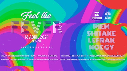 Feel The Fever Pres. Lunch & Music At Pacha Barcelona