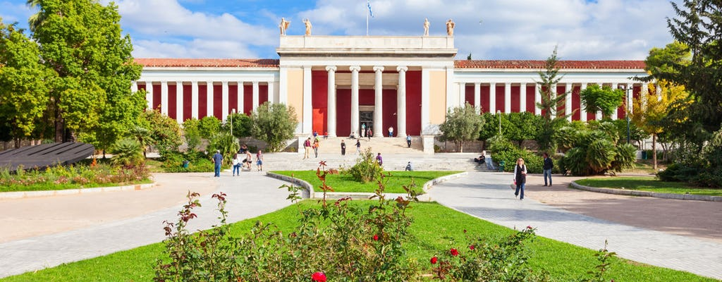 Self-guided audio tour of National Archaeological museum of Athens