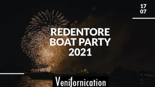Redentore Boat Party 2021
