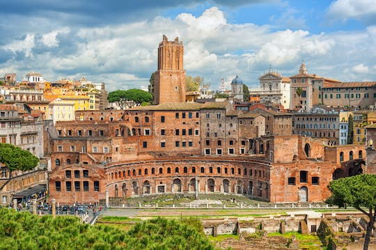 Entrance tickets to Trajan's Markets and the Fori Imperiali Museum