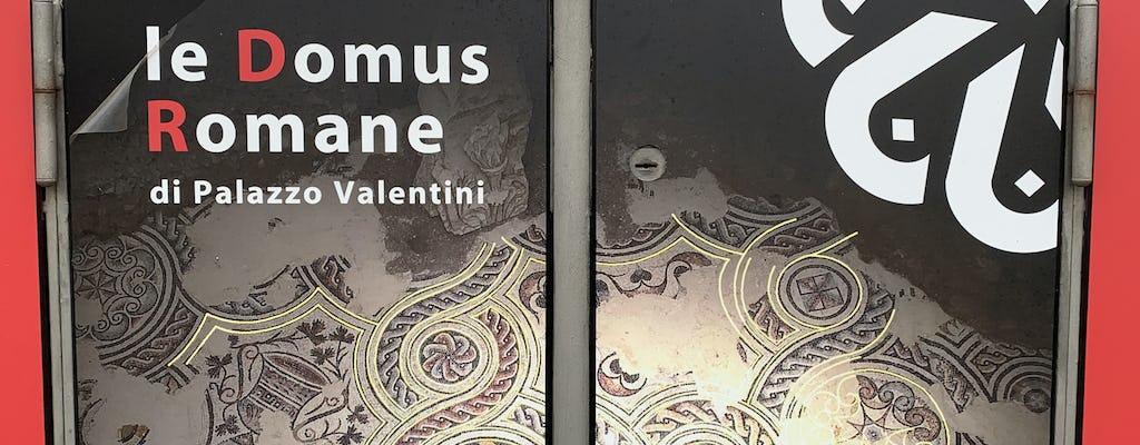 Biglietto per l'Antica Domus Romana con esperienza multimediale