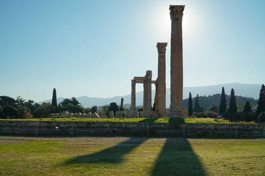 Tour de áudio do Templo de Zeus Olímpico de Atenas