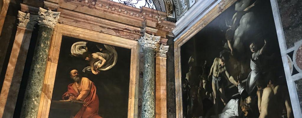 Tour a piedi di Caravaggio a Roma