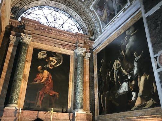 Caravaggio in Rome walking tour