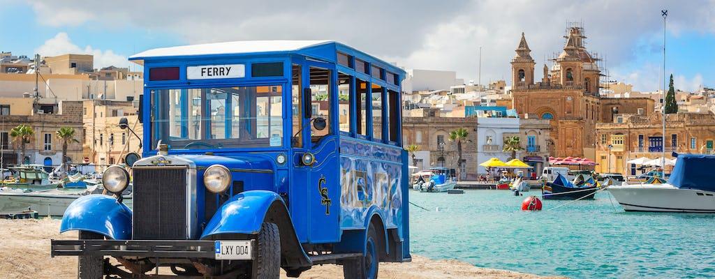 Visite de Malte en bus vintage