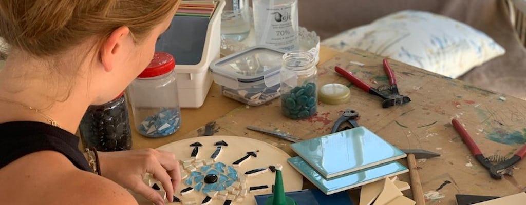 Creatieve mozaïekworkshop in Karpathos