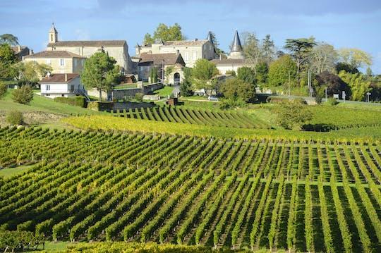 Saint Emilion Wein halbtägige private Tour von Bordeaux