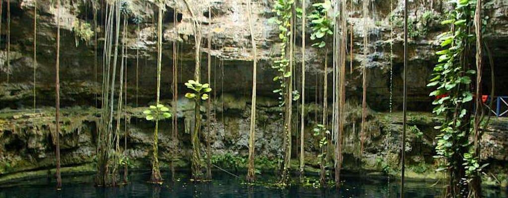 Visita guiada aos cenotes de Chichen Itza, Oxman e Ik Kil com almoço