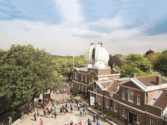 Ingresso para o explorador do dia de Greenwich nos museus reais