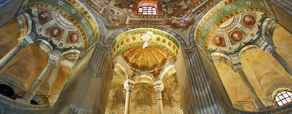 Tour per piccoli gruppi di cinque siti UNESCO a Ravenna