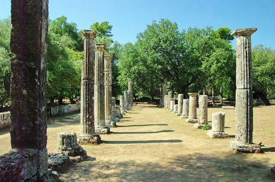 Self-guided virtual tour of Ancient Olympia
