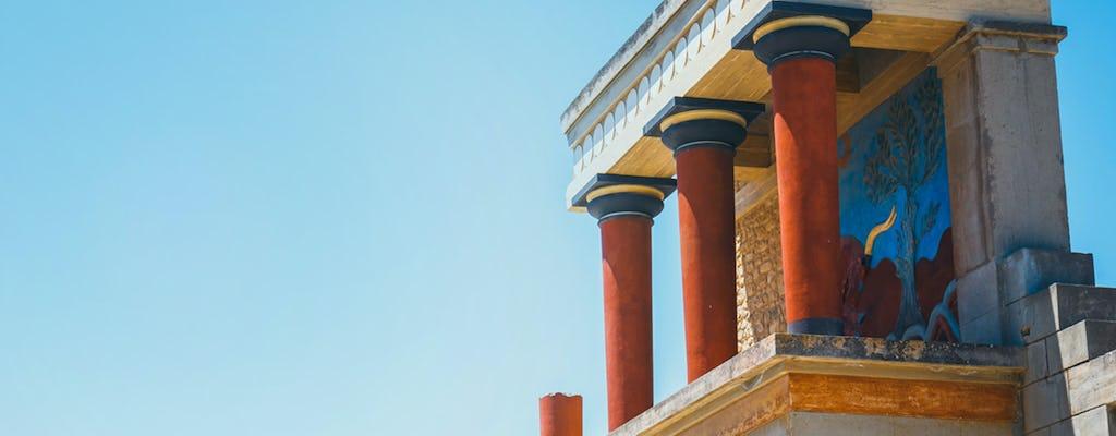 Visita virtual autoguiada ao Palácio de Knossos