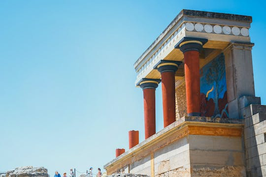 Self-guided virtual tour of the Palace of Knossos