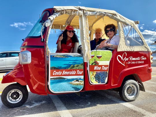1-hour Tuk-Tuk tour of Olbia