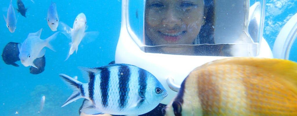Découvrez la visite de plongée avec casque à Boracay