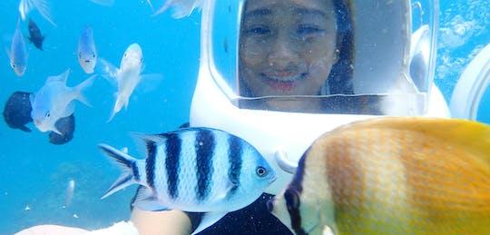 Experience Boracay helmet diving tour