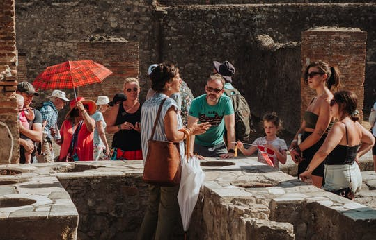 Pompeii and Herculaneum small-group tour from Rome