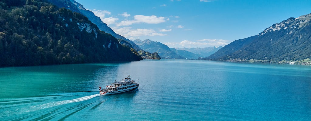 Day ticket for boat trip on Lake Brienz and Lake Thun