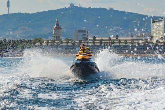 Jet ski riding experience in Barcelona