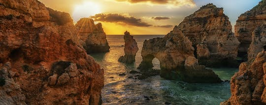 Ponta da Piedade evening boat tour