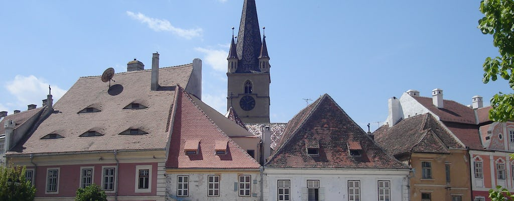 Day trip to Corvin castle and Sibiu from Timisoara