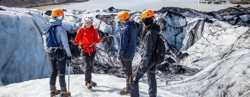 Tour de descubrimiento del glaciar Sólheimajökull