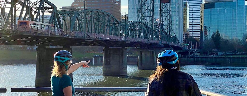 Visite à vélo de 3 heures des parcs et des ponts de Portland