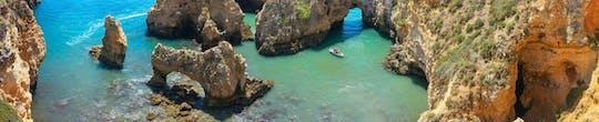 Excursión en barco privado de medio día a Ponta da Piedade