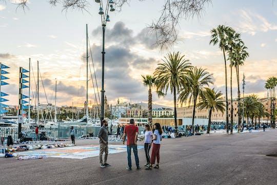 Ciesz się spersonalizowaną półdniową wycieczką po Barcelonie z lokalnym