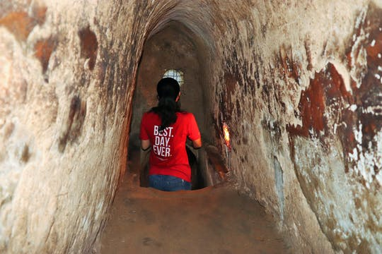 Cu Chi tunnels guided experience from Ho Chi Minh City