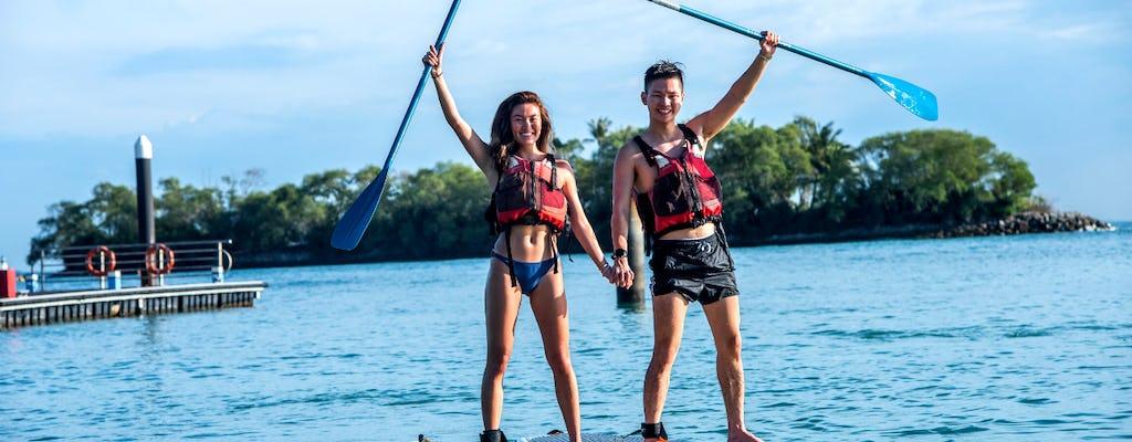 Atividades aquáticas do Ola Beach Club